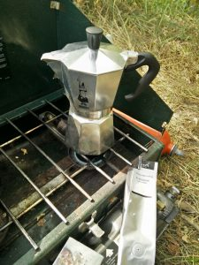 Espresso potje in the Woods