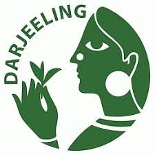 Darjeeling logo, beschermd theegebied.