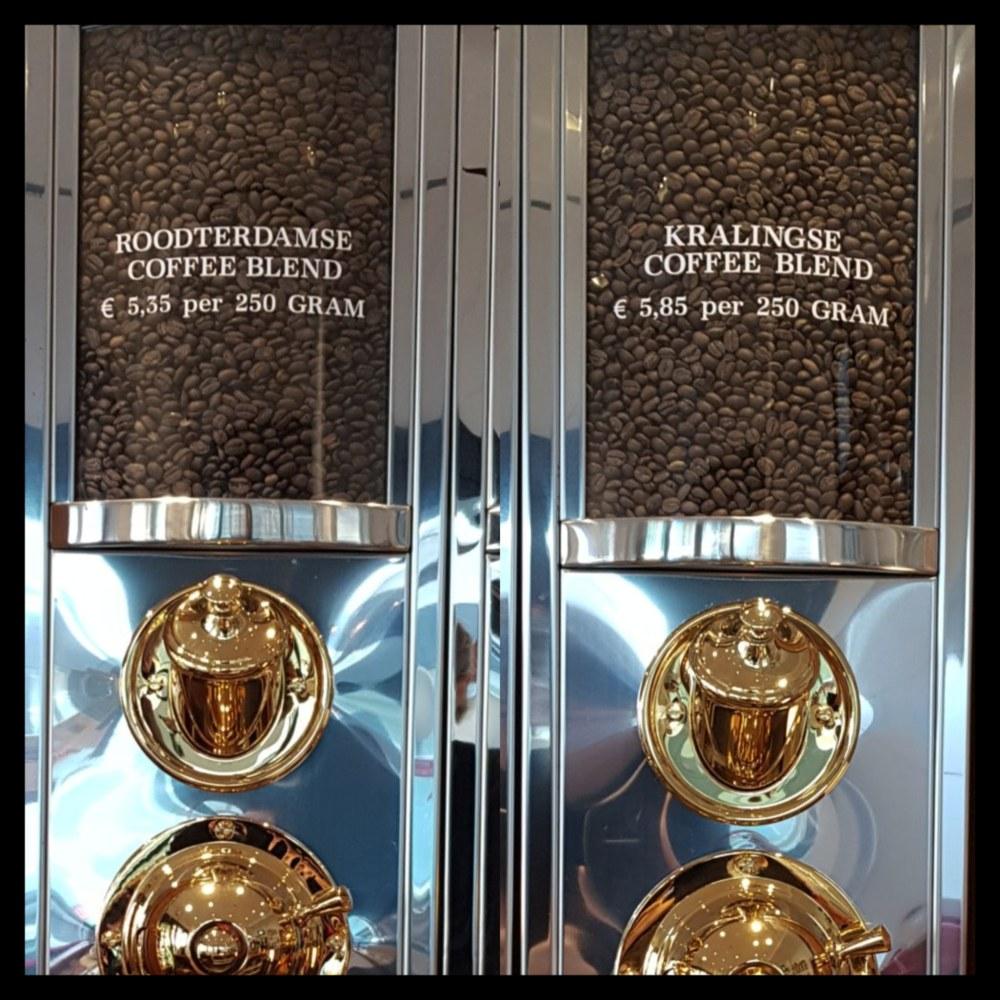 Roodterdamse & Kralingse Coffee Blend in koffie silo's